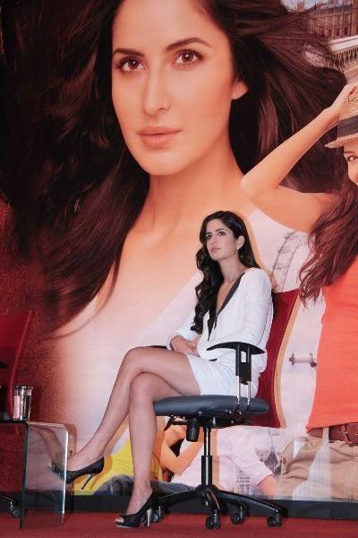 Victim of a wardrobe malfunction -  Katrina Kaif